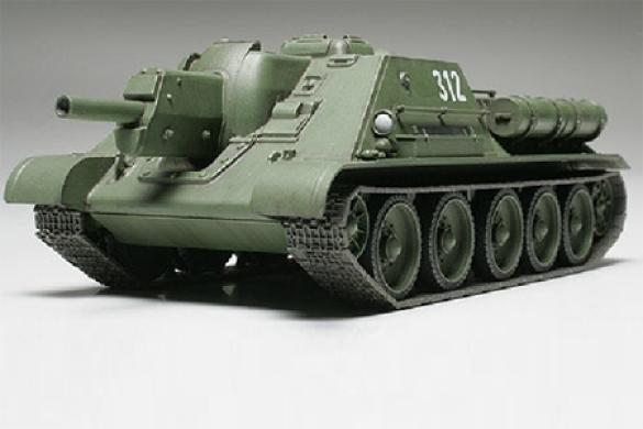 Tamiya Russian Tank Destroyer SU122  1 48 32527